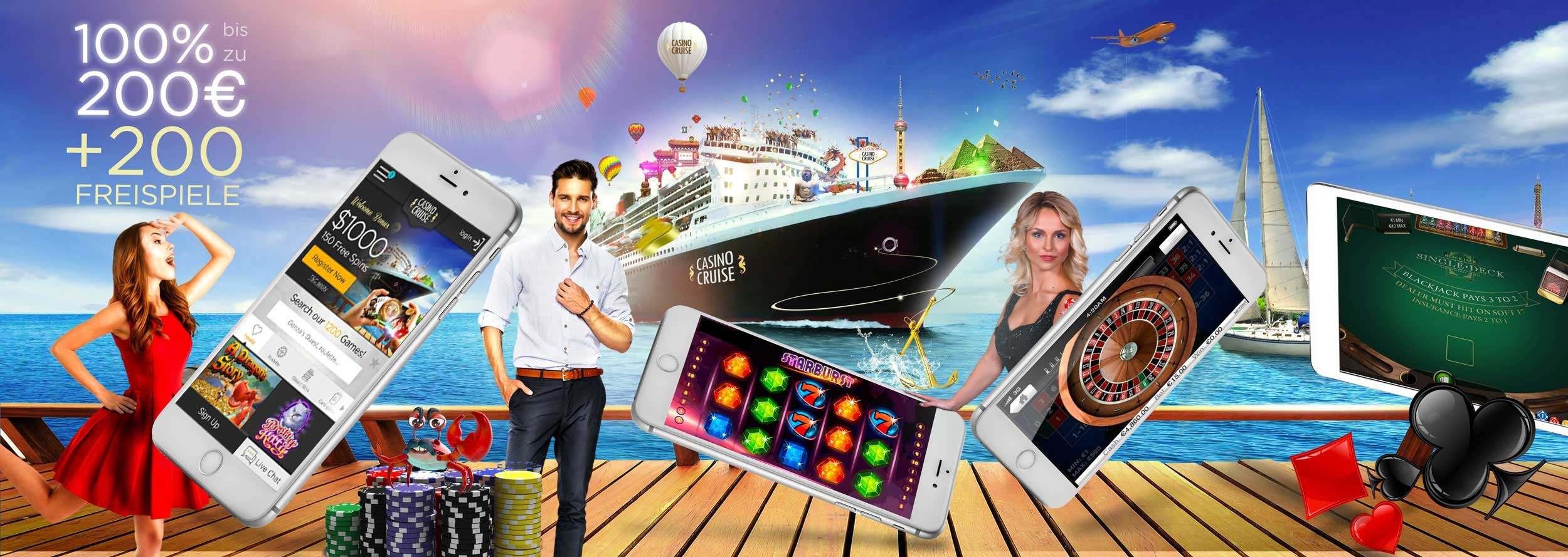 CasinoCruise mobile app