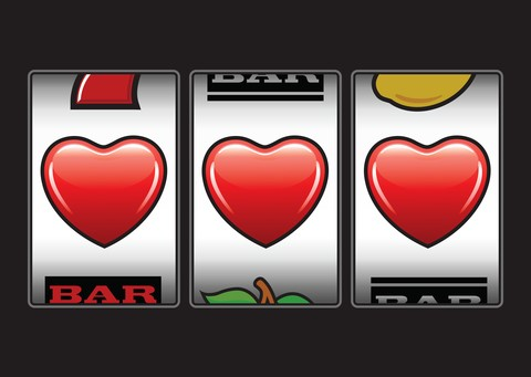 hearts slot machine image